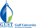 Gulf University for Science & Technology (GUST) (logo)