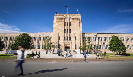 University of Queensland Forgan Smith Building