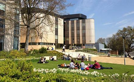 Highfield Campus at University of Southampton